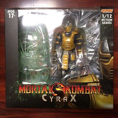 STORM COLLECTIBLES NYCC 2019 1/12 MORTAL KOMBAT CYRAX Action Figure - IN STOCK!!