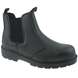 MENS-DICKIES-DEALER-SAFETY-WORK-BOOTS-SIZE-UK-6-12-STEEL-TOE-LEATHER-FA23345