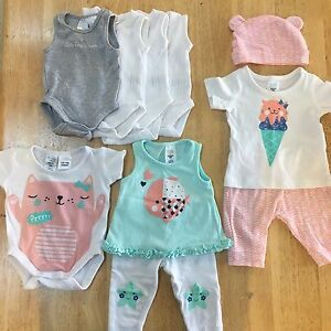 "Baby Girls 0000 Newborn clothing Bundle ""44 pieces"" Ballajura Swan Area Preview"