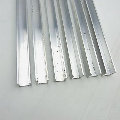 .125 Thick Aluminum Channel 1 Wide 1 Leg 95 Long Qty 6 Sku 168412