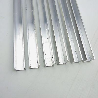 .125 Thick Aluminum Channel 1 Wide 1 Leg 95 Long Qty 6 Sku 168412
