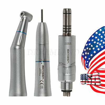 Skysea Ei4 Dental Slow Low Speed Push Button Contra Angle Straight Air Motor 4-h