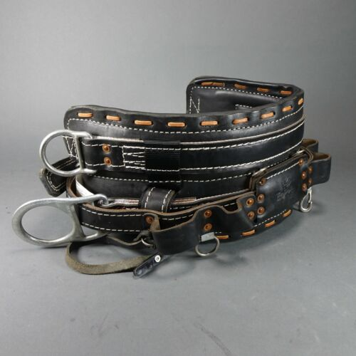 Buckingham 2100M 4-Dee Body Belt Sz 22 -  Near Mint Excellent Condition! $597.34