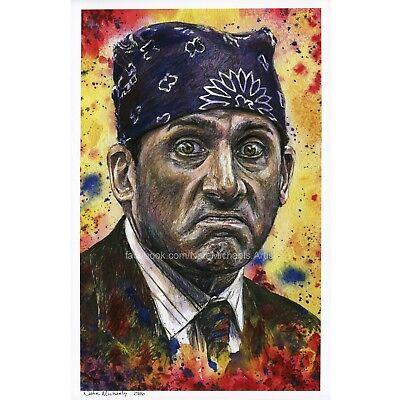 The Office / Michael Scott / Prison Mike  - Art Print / Poster