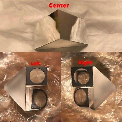 Microscope Head Prism Repair Set For Binocular Includes Center - Left - Right