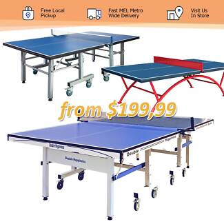 13,16,19,25,30mm Tabel Tennis Table Free MEL Metro Delivery
