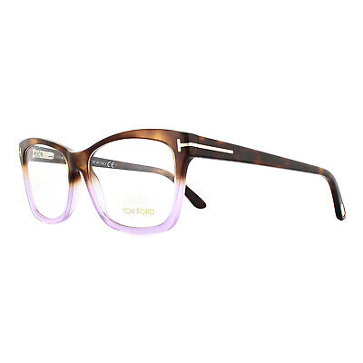 Tom Ford Glasses Frames FT5424 56A Purple Havana 55mm Womens