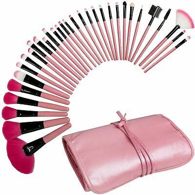 Best Professional Makeup Brushes Set - 32 Pc Cosmetic Foundation Make up Kit