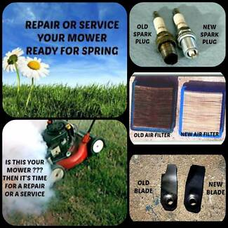 Lawn Mower & Chainsaw Repairs & Services Sunbury Hume Area Preview