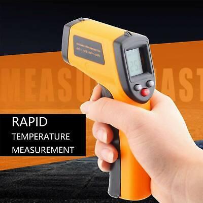 Laser Temp Gun - Temperature Gun Laser Thermometer Digital Infrared Temp IR Cooking Non Contact