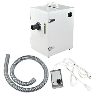 Fda Dental Lab Digital Single-row Dust Collector Vacuum Cleaner 370w For Dentist
