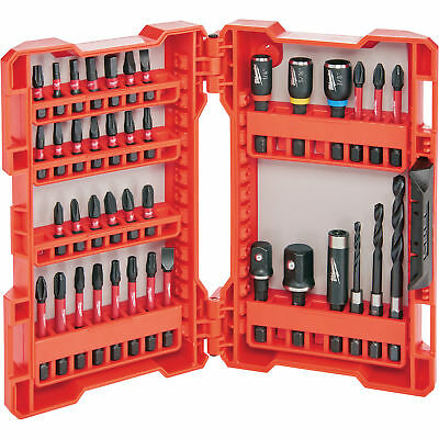 Milwaukee 48-32-4006 Shockwave Impact Duty Drill and Drive Set 40-Pc. ()