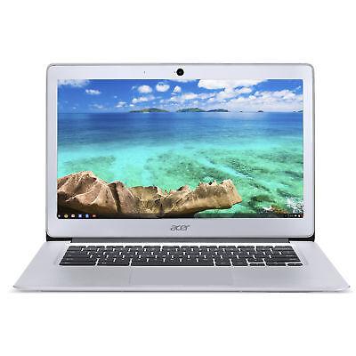 Acer Chromebook 14  Intel Celeron Quad Core 1 60Ghz 4Gb Ram 32Gb Flash Chrome Os