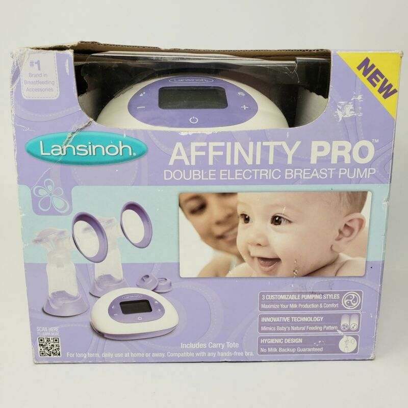 Lansinoh Affinity Pro Double Electric Breast Pump Carrying Tote New in Box