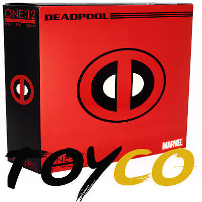 New Authentic Mezco Toyz One 12 Collective Deadpool Action Figure In Stock