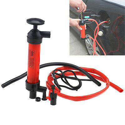 W2 3 In 1 Car Air Oil Siphon Water Liquid Fuel Oil Extractor Inflator Hand Pump