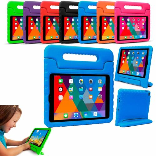 Kids Tough Shockproof Foam Case With Adjustable Handle Stand