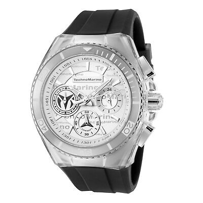 Technomarine TM-118131 Cruise Women's 40mm Chronograph Steel Silver Dial Watch