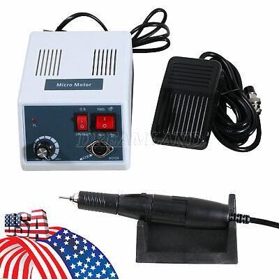 Dental Lab Marathon-iii Micromotor Electric W 35000 Rpm Handpiece Polishing N3