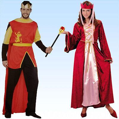 Samt Kostüm Königin oder König Adel Hofdame Mittelalter - Alte Prinz Kostüm