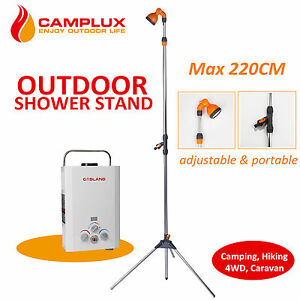 Portable Gas Hot Water Heater Camplux Outdoor Shower Stand Camping Outdoor