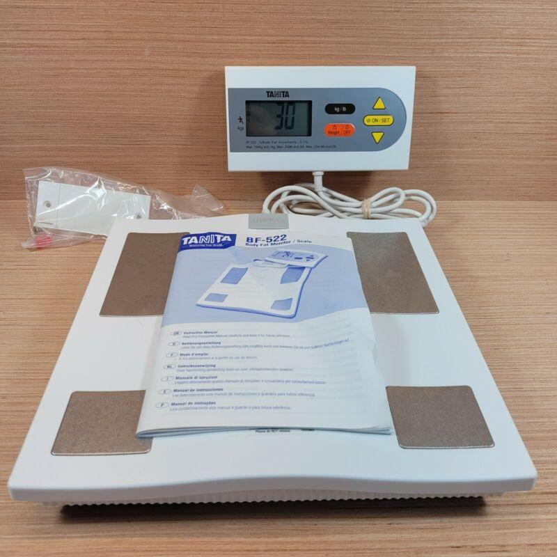 Tanita Body Fat Monitor BMI / Scale  Model BF-522