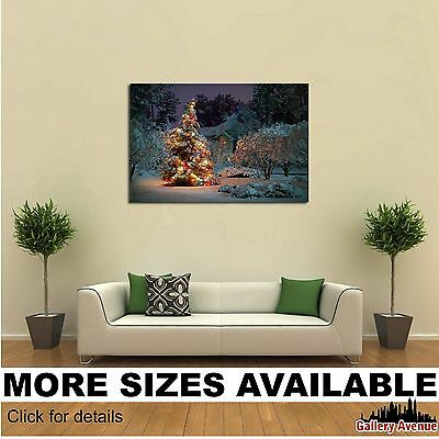 Canvas Wall Ornaments - Wall Art Canvas Picture Print - Christmas Tree Ornaments M016 3.2