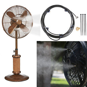 5M Outdoor Misting System Fans Water Cooling Portable Patio Mist Garden Spray US