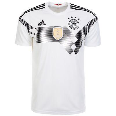 adidas Performance DFB Trikot Home WM 2018 Herren weiß / schwarz NEU ()