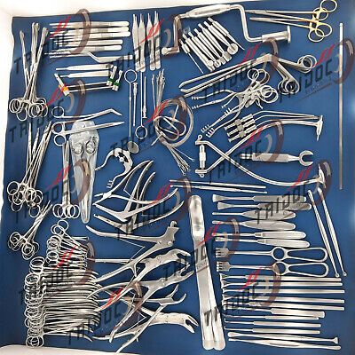Neuro Surgery Instruments Set Of 133pcs German Stain Less Steel Quality A