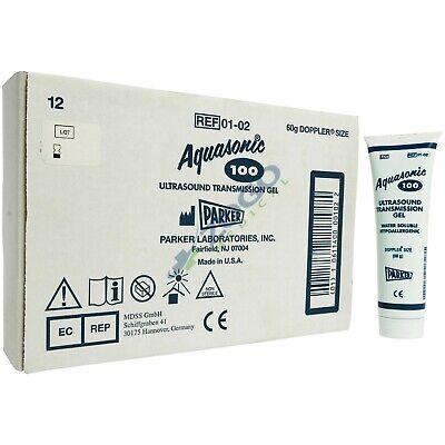 Aquasonic 100 Ultrasound Gel - 60 Gram Tube - Box Of 12