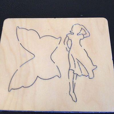 Big Fairy Wings (CROSS-CUTS LARGE WOODEN DIE 5