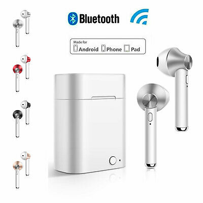 Wireless Bluetooth Headphones for Earpods iPhone Android Stereo Music with Mic