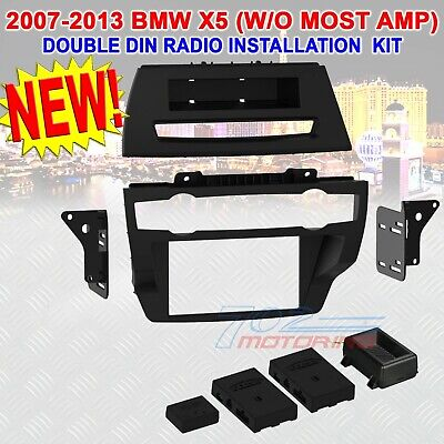 2007 - 13 BMW X5 (W/OUT MOST AMP) DOUBLE DIN CAR STEREO RADIO DASH KIT 95-9321B