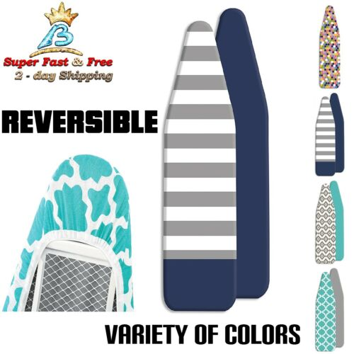 Reversible Cover And Thick Pad Stretch Fits Standard Ironing Board Scorch Coat