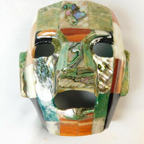 Abalone Shell Tribal Mask