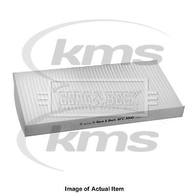 New Genuine BORG & BECK Pollen Cabin Interior Air Filter BFC1000 Top Quality 2yr
