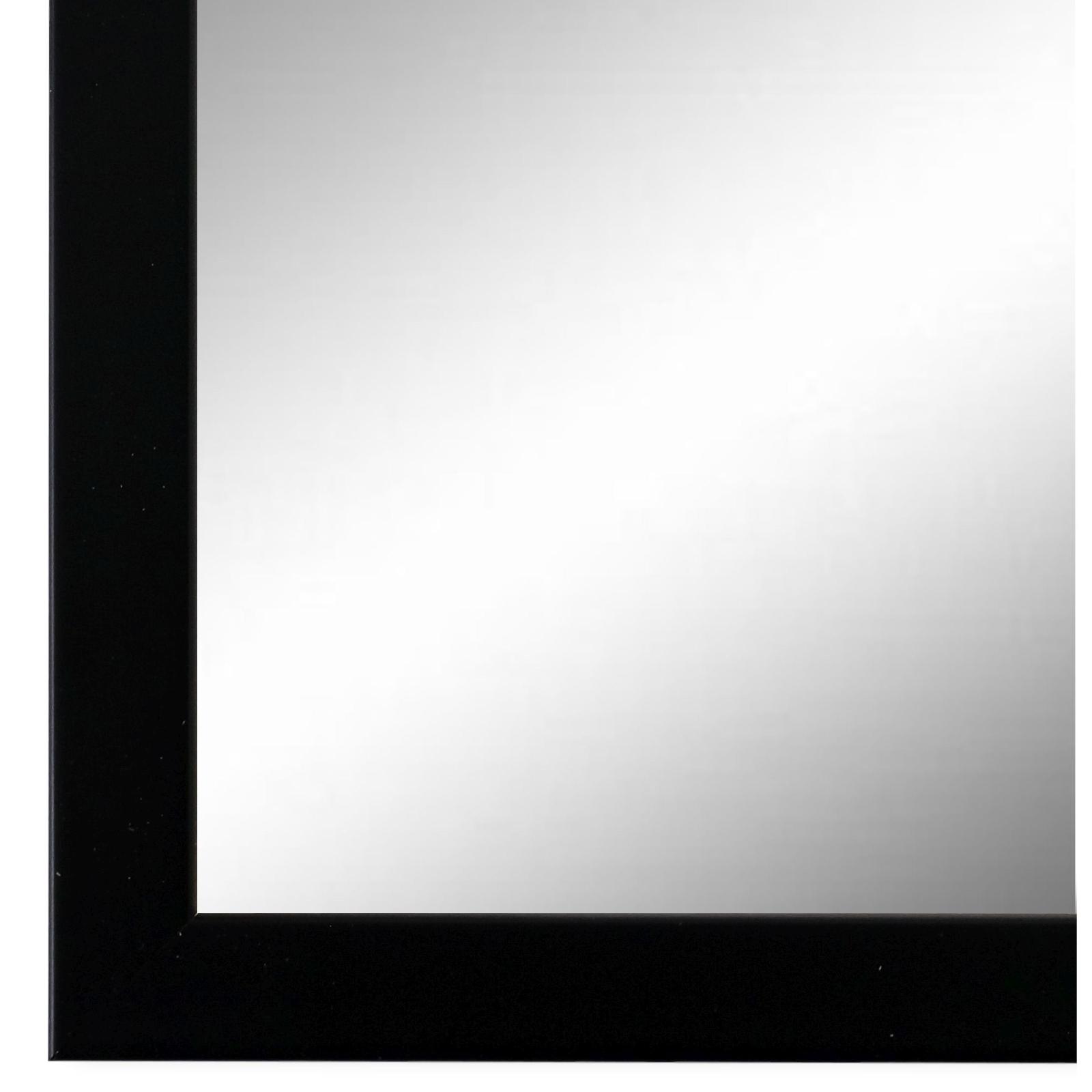 Spiegel Wandspiegel Flurspiegel Badspiegel Schwarz Modern Holz Asti 1,7 - NEU
