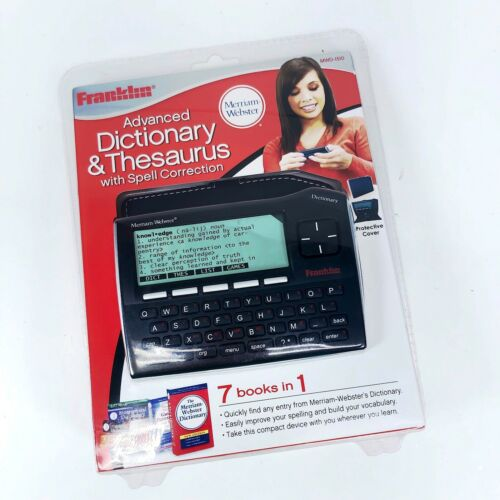 Franklin MWD-1510 The Classic Electronic Dictionary and Thesaurus - NEW IN BOX