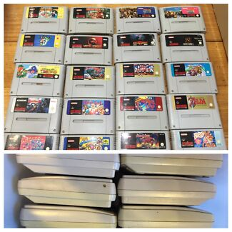 Super Nintendo snes consoles games Trusted Seller postage available Avondale Heights Moonee Valley Preview
