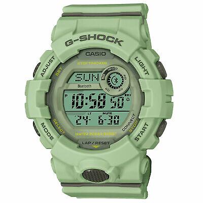 Authentic Casio G-Shock G-SQUAD Light green Bluetooth Women's Watch GMDB800SU-3