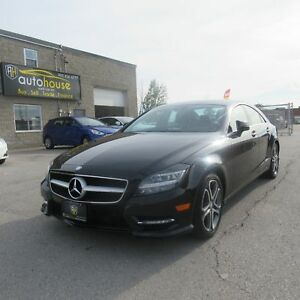 2014 Mercedes-Benz CLS-Class 4MATIC, AWD, SUNROOF, LEATHER, B...