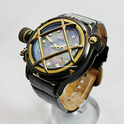 Invicta 17473 Russian Diver Stainless Steel 52mm Mother of Pearl Men's Watch