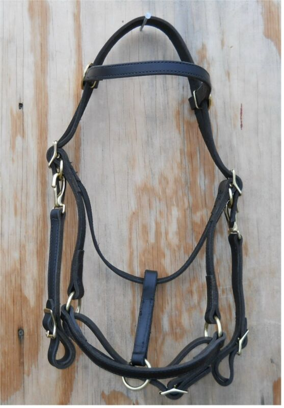 Bridle Halter Combo Unit with 7