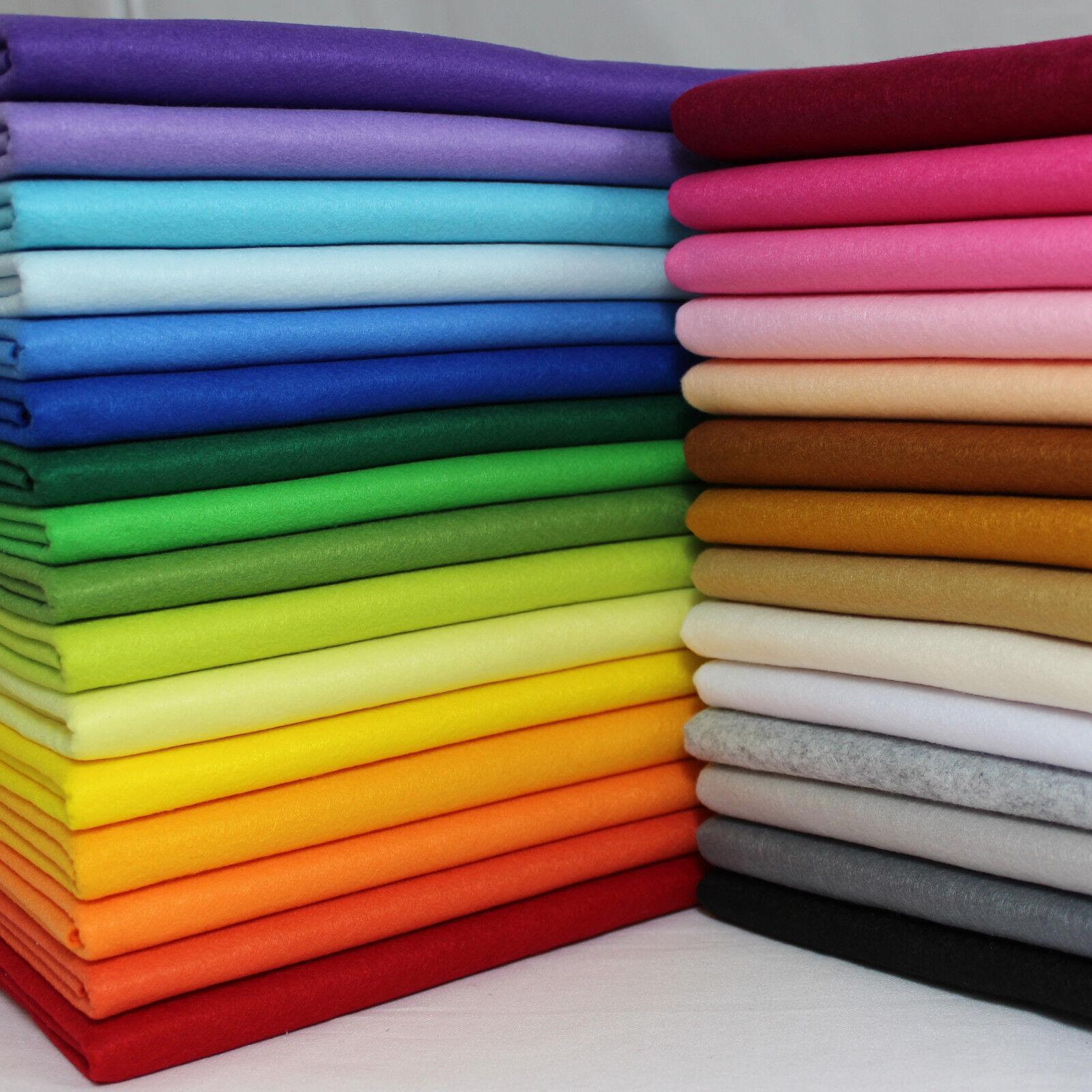 Soft Polyester Craft Felt Sheets