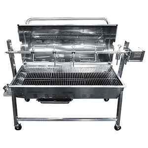 Combi Gas & Charcoal Machine / Hog Roast Oven / Rotisserie / BBQ - Tasty Trotter