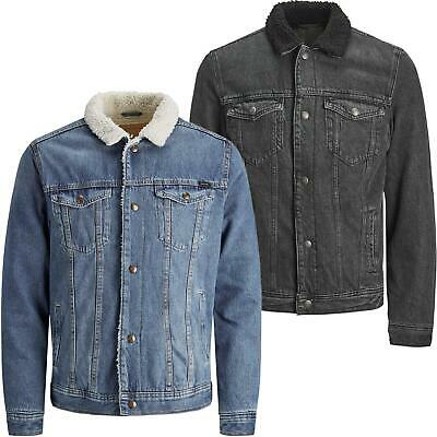 Jack & Jones Sherpa Lined Denim Jacket