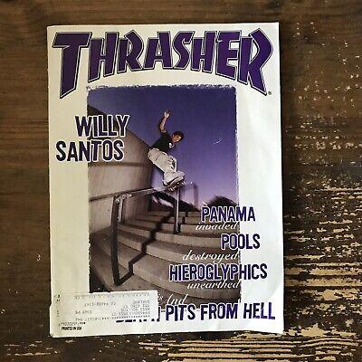 THRASHER magazine May 1998 SKATEBOARDING/SKATEBOARD