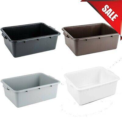 6-pack 20 X 15 X 7 Colors Polypropylene Bus Plastic Restaurant Dishwasher Tub
