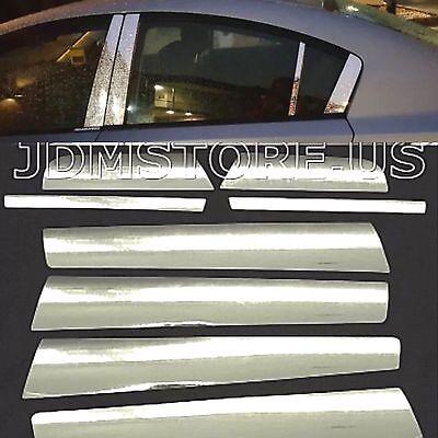 New Chrome Stainless Steel Trims Door Pillar Post For 2008 2009 2010 2011 2012 Honda Accord Sedan